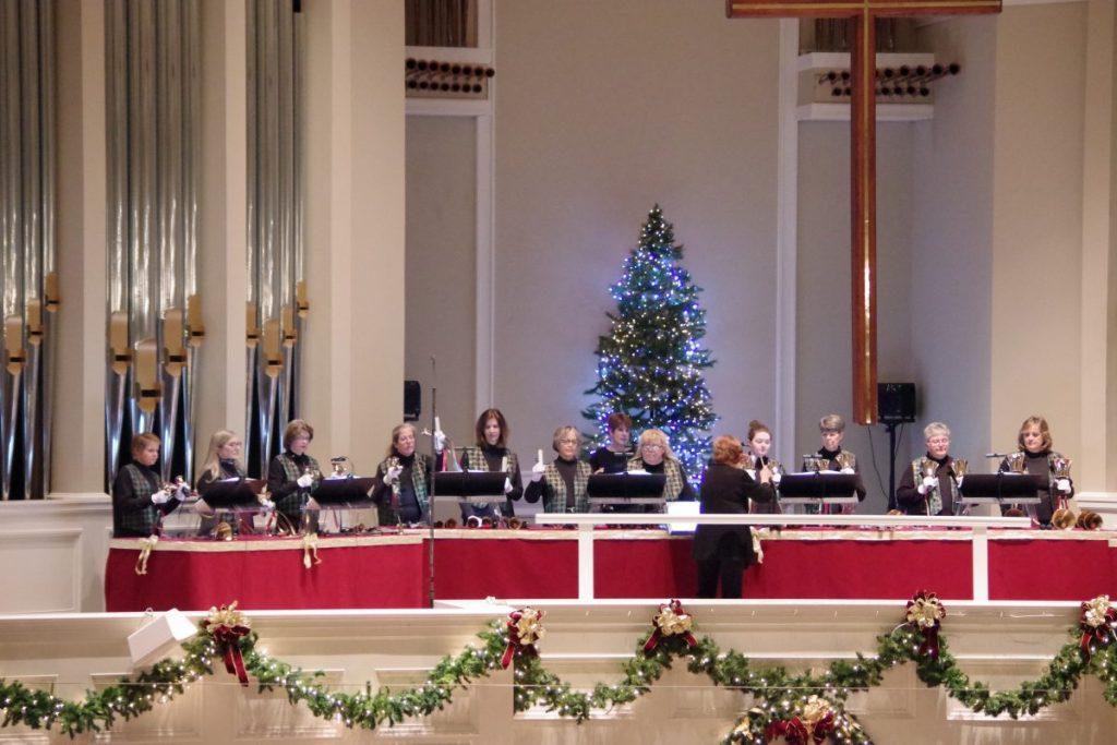 Handbell Choirs at Christmastime