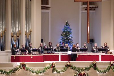 Handbell Choirs at Christmastime