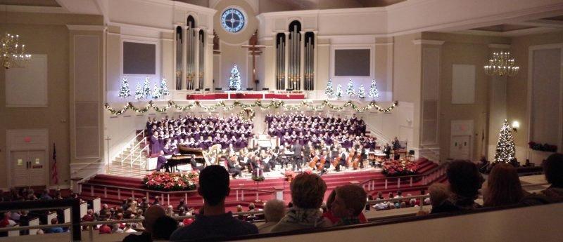 Christmas, concert, carols choir