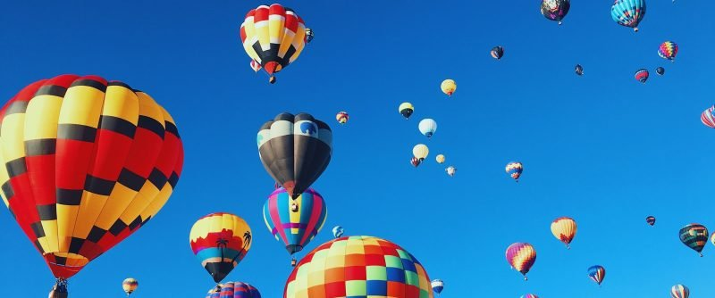 hot air balloons, balloon race