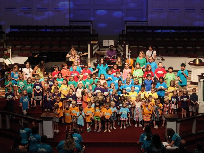 VBS 2018 Sanctuary Performance