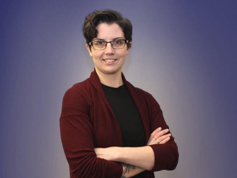 Portrait of Nicki Reinhardt-Swierk, Social Justice Coordinator