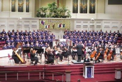 Manchester UMC Chancel Choir.