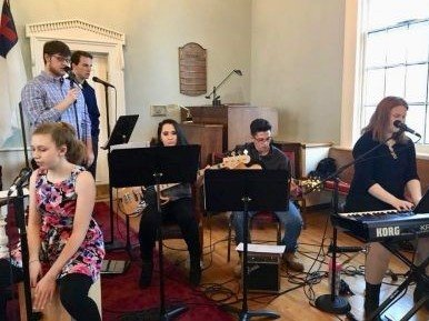 Youth Band in Chapel