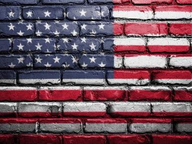 American Flag Bricks 43