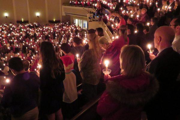 Candlelight Christmas Eve Serivce.