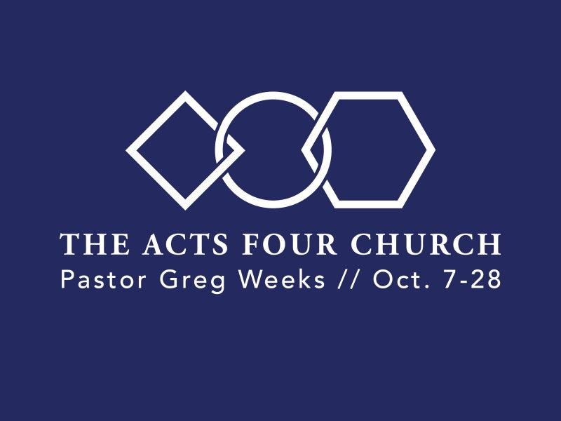 Acts 4 Church, sermon series, generosity