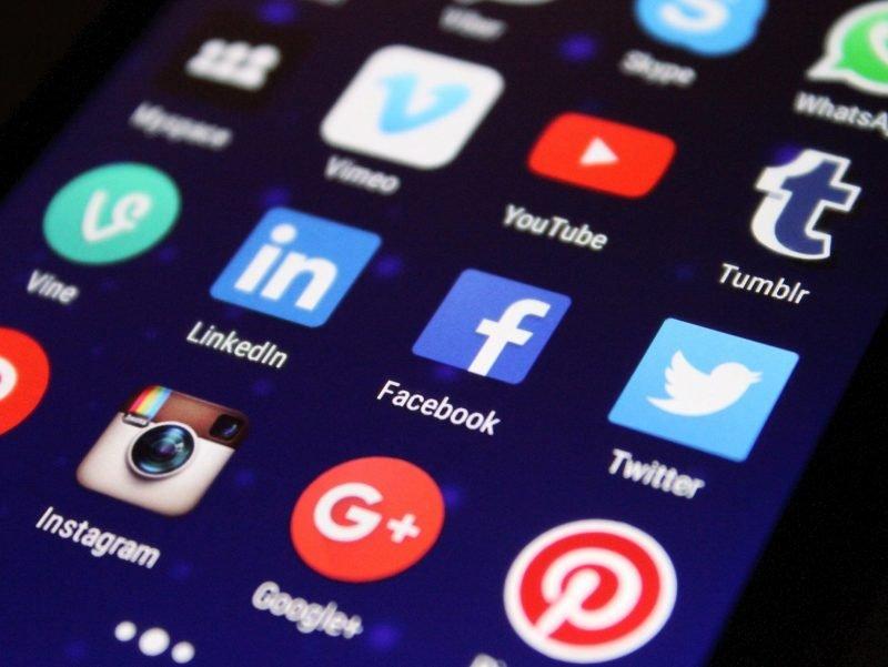 social media, web, online