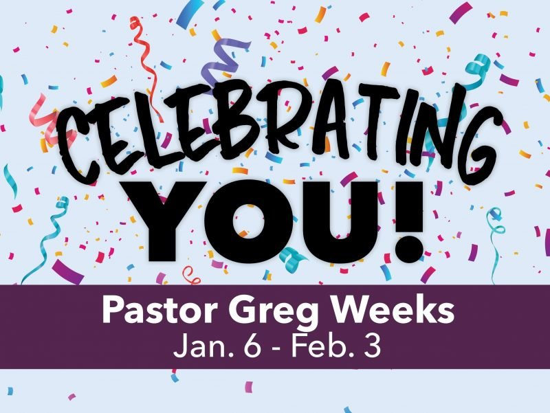 Image of the sermon series art depicting 'Celebrating You!'