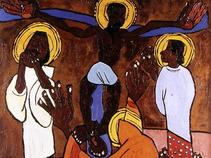 Christ in Alabama Painting by William H. Johnson
